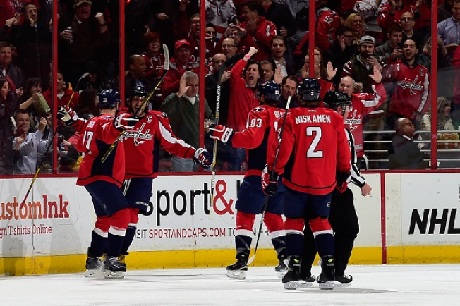 Capitals Snap Skid With Emphatic Victory Against Penguins