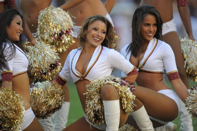 Big Ben Has Problem With Redskins' Cheerleaders