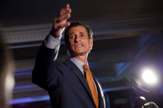 Anthony Weiner Ends Primary Bid Like It Began: Defiant