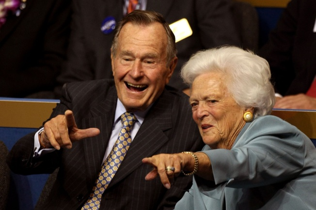 The Subtle Way George HW Bush Honored His Wife's Work
