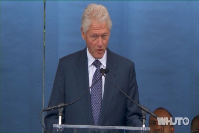 Clinton Emphasizes Service in Howard Commencement Speech