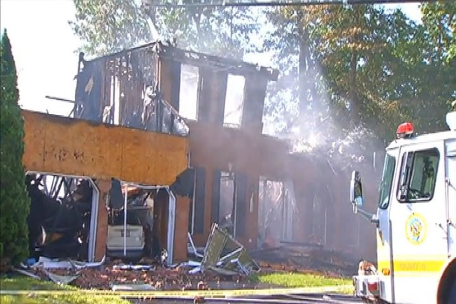 Early Morning Fire Destroys Severn Home