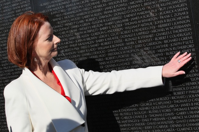 Vietnam Memorial Gets a Gift from Australia