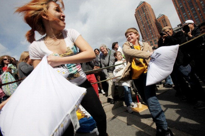 International Pillow Fight Day: This Is a Thing