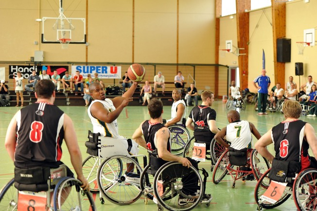 Wheelchair Basketball Battle at AU Thursday Night