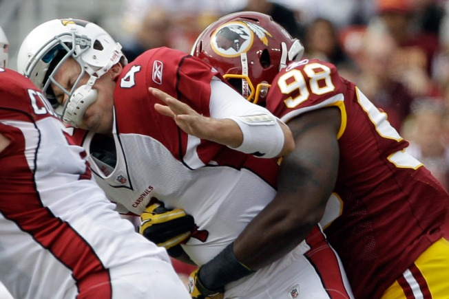 Redskins' Comeback Clips Cards