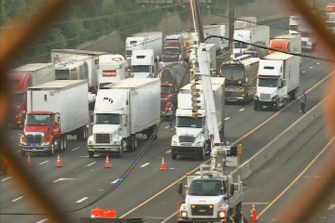 Downed Lines Tie Up I-270 Traffic for Hours