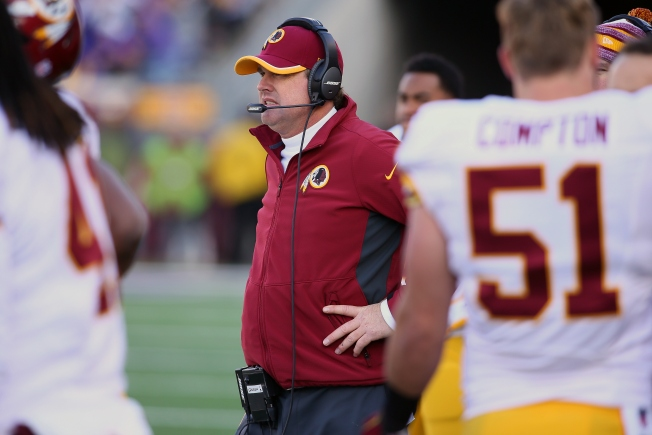 "Jay Gruden: Robert Griffin III ""Needs To Worry About Himself"""