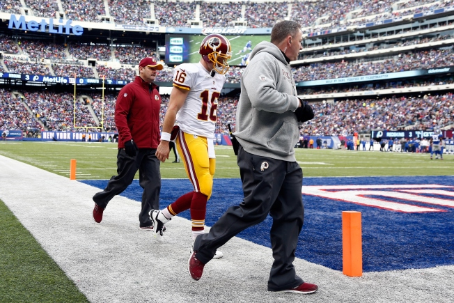 Redskins Place Colt McCoy on Season-Ending Injured Reserve