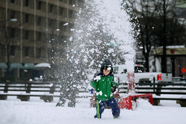 Dupont Circle Snowball Fight Bumped to National Mall