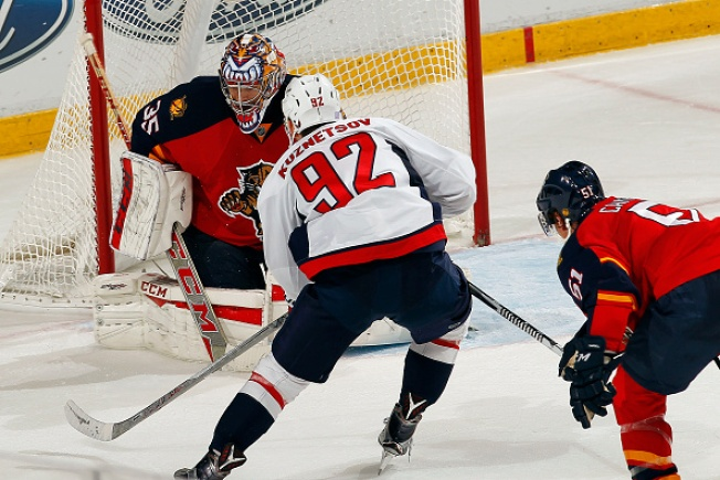 Kuznetsov Scores in OT to Lift Capitals over Panthers