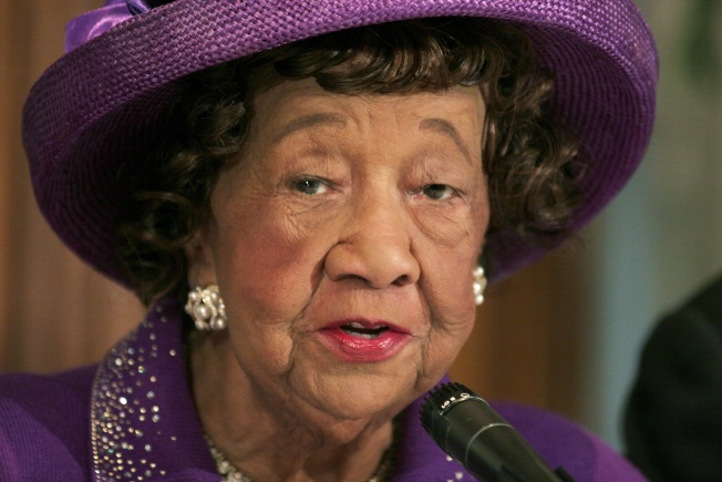 Dr. Dorothy Height Post Office Bill Sent to President