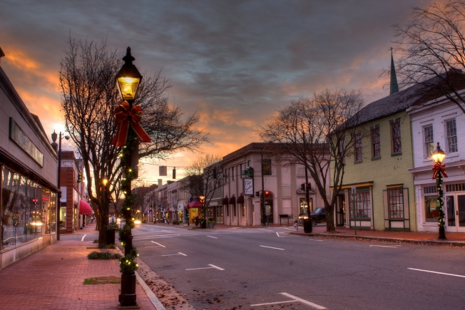Christmas and History in Fredericksburg, Virginia