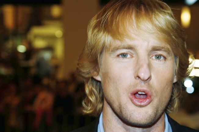 Owen Wilson Spotted at Georgetown Cupcake