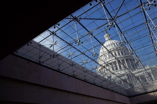 Capitol Visitors Get That Caged-In Feeling