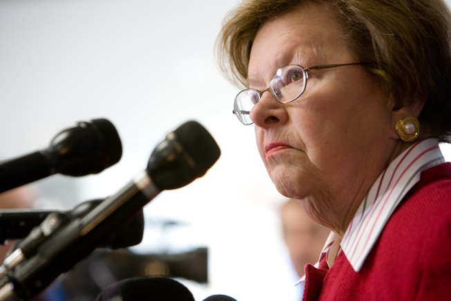 Sen. Mikulski Honored as Congress's Longest-Serving Woman