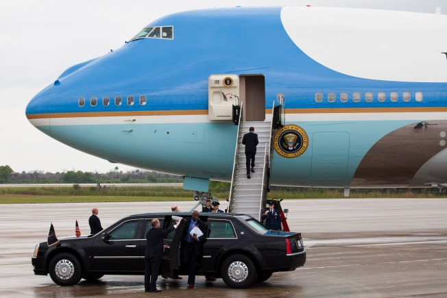 Private Plane Violates Air Force One's Restricted Zone