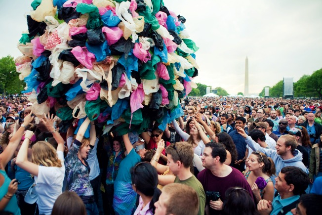 Earth Day on the Mall? Try 2012