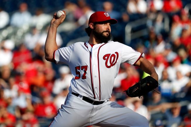 Roark to Start for Nationals in Game 2 vs. Dodgers