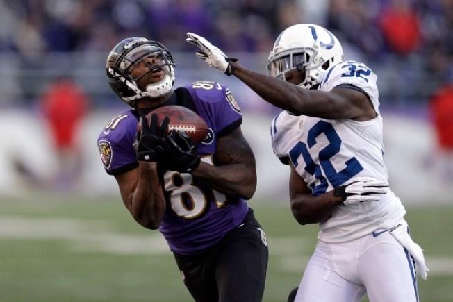 Boldin's Big Day Leads Ravens Past Colts