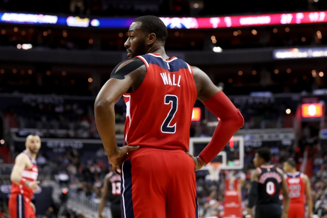 John Wall Out At Least Two Weeks With Knee Injury