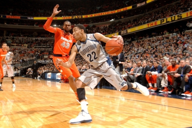 Hoyas Crush Orange in Regular Season Finale