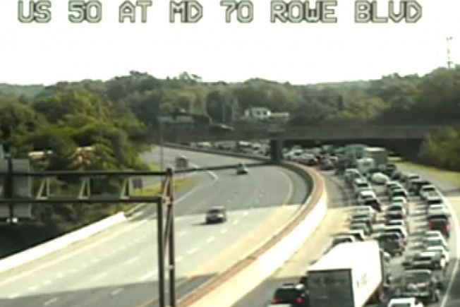 Route 50 Re-Opens After Accident; 7 Hospitalized