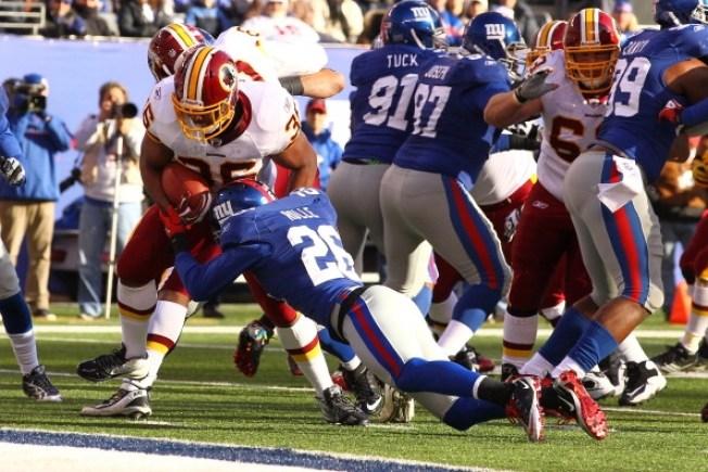 Redskins Grind Down Giants, 23-10