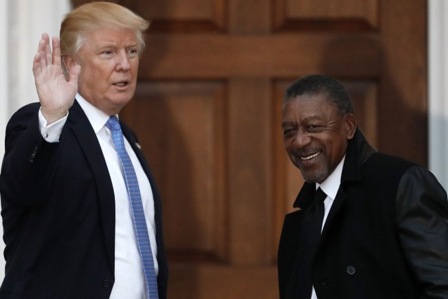 BET Founder Robert L. Johnson Pitches Trump Economic Strategies