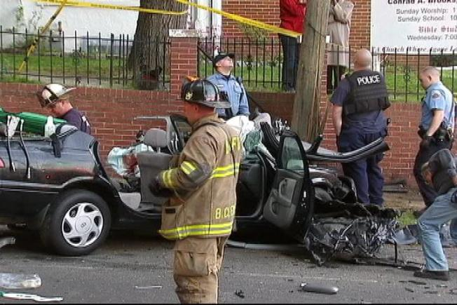 Toddler in Grave Condition After D.C. Crash
