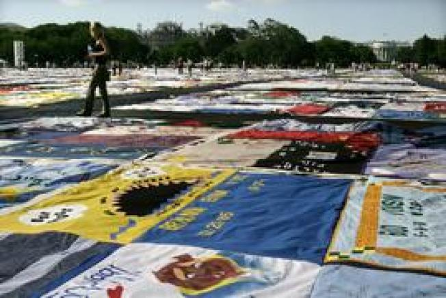 Turning 25, AIDS Quilt Will Be Displayed Around DC