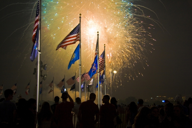 Fireworks Finder 2013: Fourth of July Bashes in D.C., Maryland and Virginia