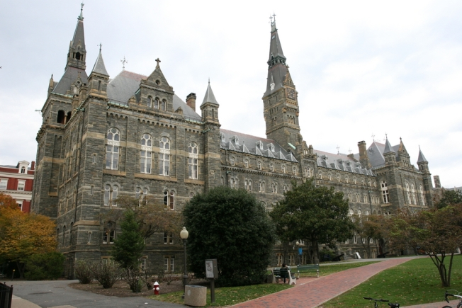 Georgetown University Chapel Vandalized