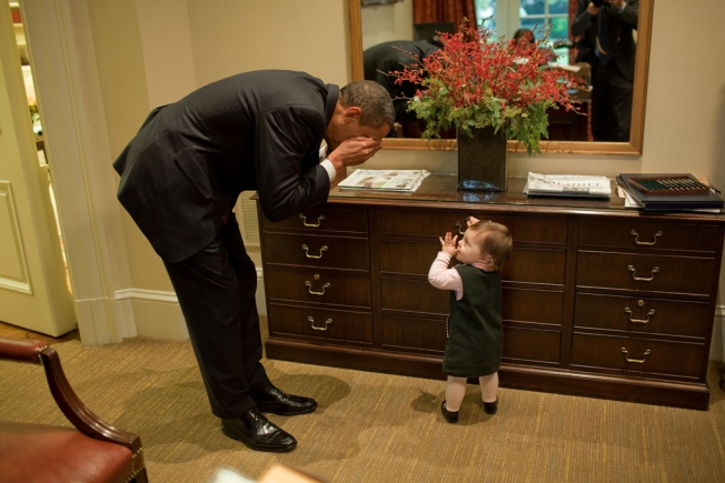 Peek-a-Boo, Mr. President!
