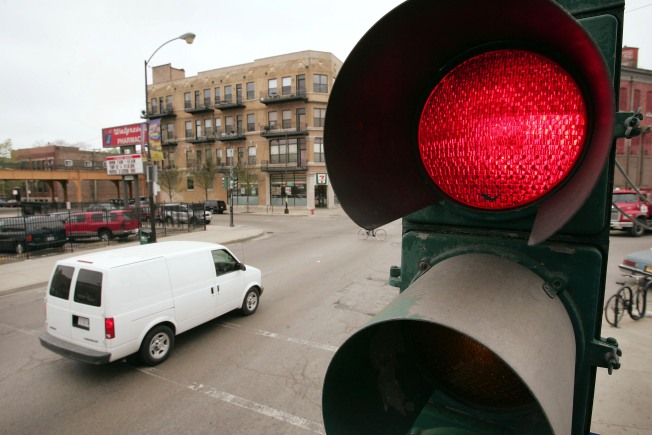 Signal Timing Snarls Traffic Flow and Drivers' Patience