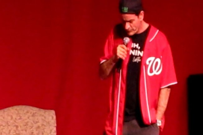 Sheen Winning D.C. in Nats Jersey