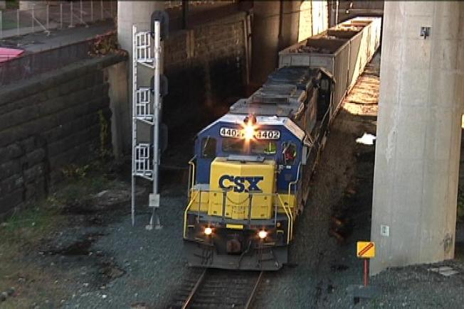 CSX Train Collides With Car in Southeast