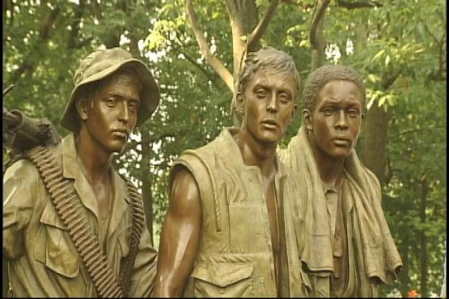 Vietnam Veterans Memorial Statue Restored