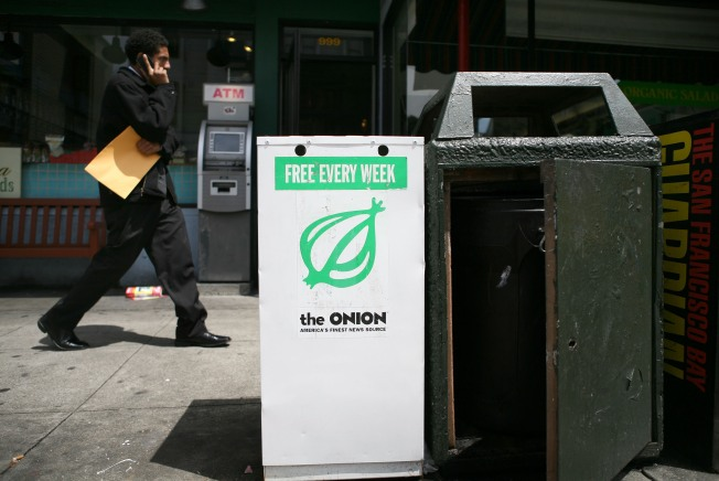 The Onion Ends Distribution in D.C.