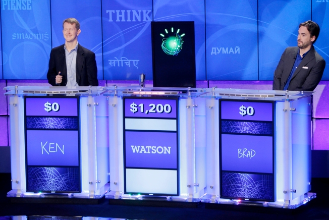 """IBM Computer Beats 2 """"Jeopardy!"""" Champs"""
