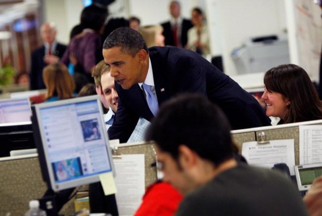 Obama's First Tweet