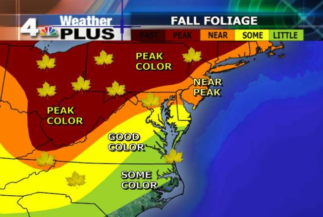 Fall Color Nearing Peak Conditions