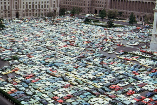 When Downtown DC Really Was a Parking Lot