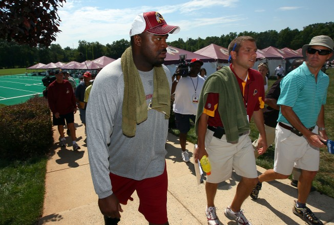 Haynesworth Decides to Rest Instead of Test