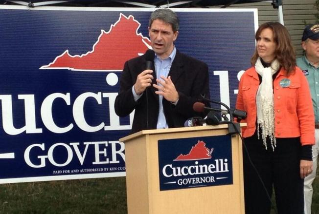 Cuccinelli Tries to Fire up Va. Conservative Base
