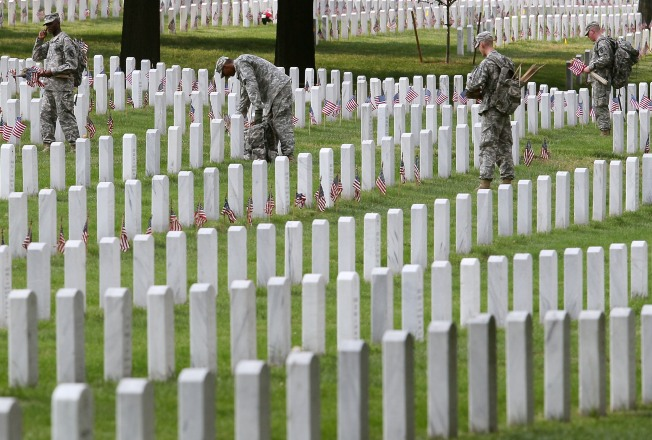 Arlington Cemetery Makes Progress on Its Problems