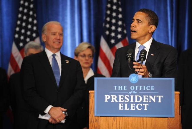 """I Will Confront This Economic Crisis Head-on"" - Obama Text"