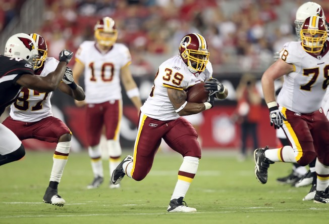 Fast Willie Among Redskins Cuts