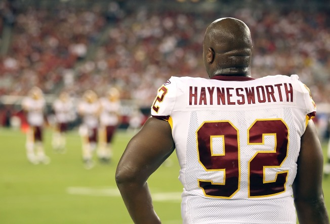 Redskins Suspend Haynesworth Rest of Year