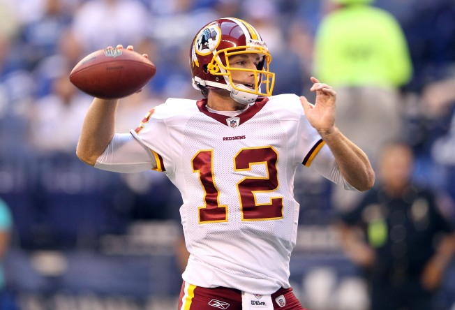 John Beck Stirs Up Quarterback Controversy in Redskins Win Over Colts